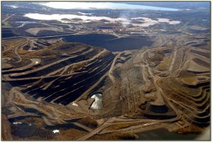 Image of what the Penokee Hills would look like if the extreme mining advocates get their way