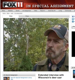 "Dr. Kroll in an interview with Fox 11 in November 2011: ""the hunting season has become very complex, you almost have to carry a lawyer with you now in the field to determine if you are obeying the rules or not."""