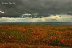 View of Lake Superior from the Penokee Hills. Photo:  Joel Austin