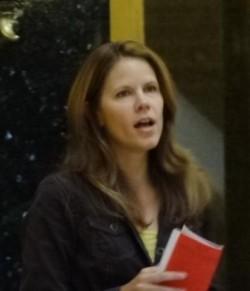 Rep. Chris Taylor at the Solidarity Sing Along on November 12, 2012.