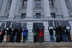 Water Is Life #IdleNoMore 1/13/13