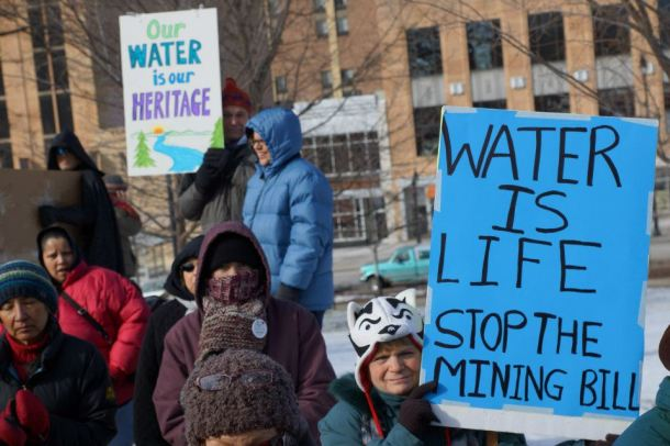 Water is Life from Protect Wisconsin's Waters rally 1/26/13