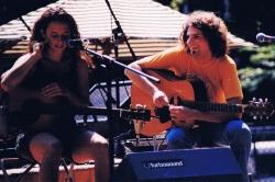 Amelia Royko Maurer and Paulie Heenan.