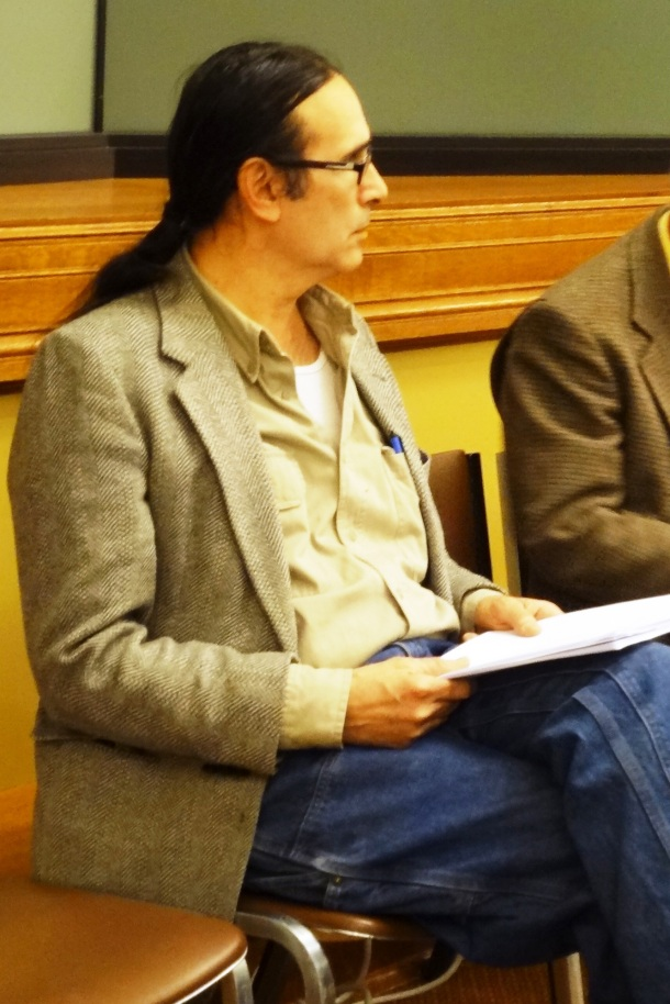 Paul DeMain, La Courte Oreilles Mining Impact Committee.