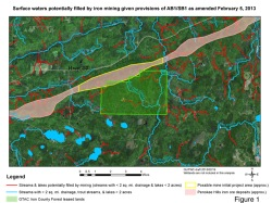 Map: Great Lake Indian Fish and Wildlife Commission