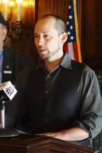 Washburn Mayor Scott Griffith