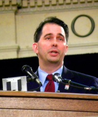 Walker turned down millions of dollars in job funding when he denied high speed rail. Photo: Michael Matheson