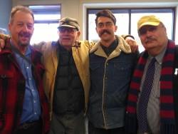 Nick Vander Puy, Joe Rose, Amorin Mello and Richard Blakely