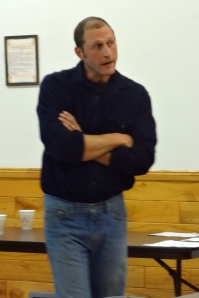 Iron County Forester Joe Vairus.