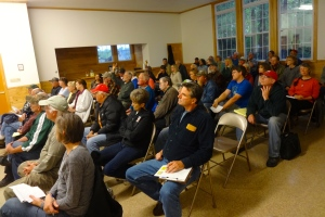 About 50 people attended the Iron County Citizens Forum.