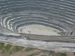 After the collapse of the walls of Cobre Las Cruces. Photo: Ecologistas en Acción