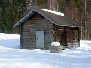 Finnish sauna.