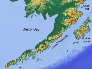 Bristol Bay, Alaska, where the EPA recently ruled that mining would damage environment and economies.