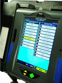 ESS&S iVotronics voting machine. Photo: Popular Mechanics