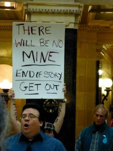 January 23, 2013, rally during public hearing for AB1/SB1 at the Capitol.