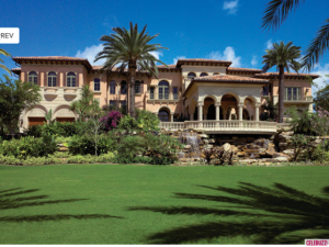 Chris Cline's North Palm Beach mansion