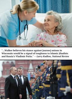 nurses unions scott walker
