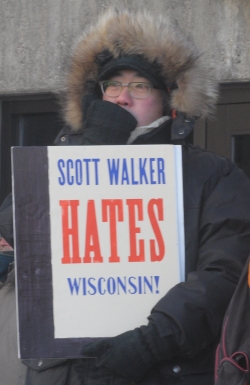 Scott Walker hates Wisconsin.