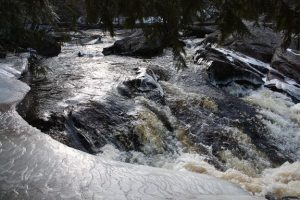 Red Granite Falls outside of Mellon, WI. Photo: Ros Nelson