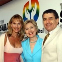 Haim and Cheryl Saban