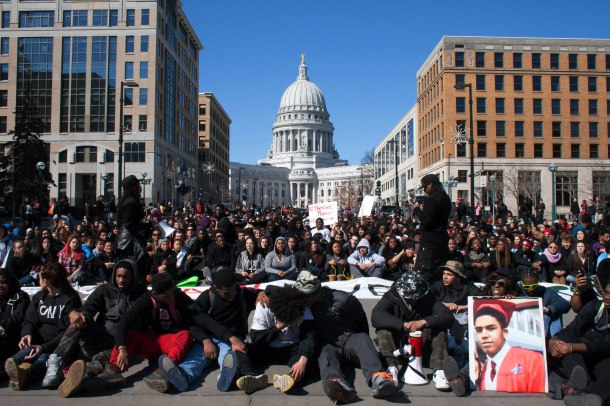 Student sit-in March 9, 2015