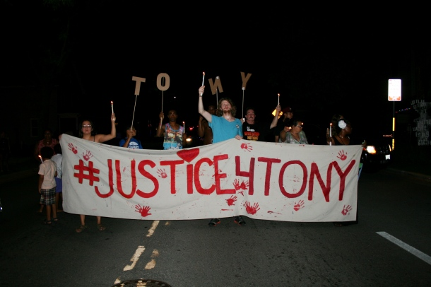 #JUSTICE4TONY September 6, 2015