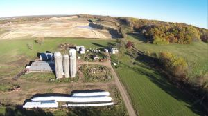 A frac sand mine in Great Northern, WI. Photo: Save the Hills Alliance